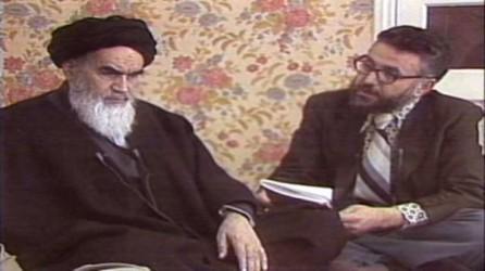 دکترابراهیم یزدی بهنگام«ترجمه»ی گفته های خمینی