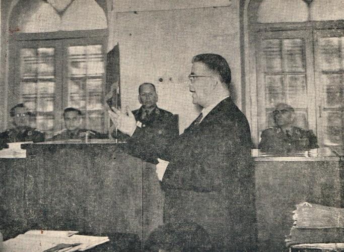 دکترمظفربقائی در دادگاه نظامی